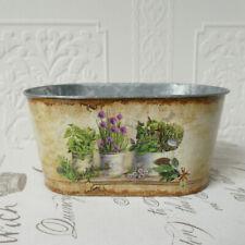 Pflanzschale Kräuter Jardiniere tolle Farben  pflegeleicht Blumen Vase