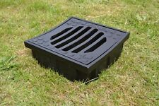 31,5 x32,5cm DRAINAGE Gully Clark Drain Cast Iron Manhole Cover Inspection KS001