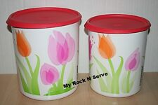 Tupperware One Touch Canister Container  D,C New!!
