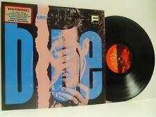 ELVIS COSTELLO & THE ATTRACTIONS almost blue LP EX/EX, XXLP13, pink, blue sleeve