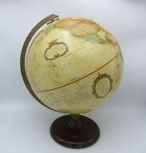 "VTG REPLOGLE WORLD CLASSIC DESK TABLE GLOBE 12"" HOME OFFICE USA FEDEX"