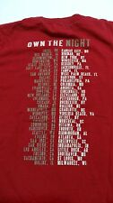 Lady Antebellum Official Merchandise 2012 Own The Night Tour T-Shirt S