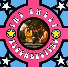 THE SWEET-BLOCKBUSTERS-14 TRACK CD-GERMAN IMPORT-1989-FEATURES CLASSIC TRACKS