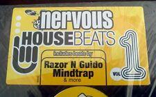 """NERVOUS HOUSE BEATS  VOL 1 - 12"""" LP"""