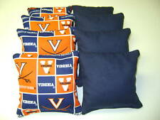 8 Cornhole Bean Bags Corn Toss Virginia Cavaliers