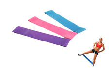 Resistance Stretch Modern Loop Band Gym Crossfit Yoga Elastic Rubber Rope SPT