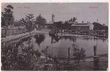 Cox's Pond Harwich Essex Postcard, B728