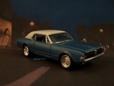 1967 67 MERCURY COUGAR XR-7  COLLECTIBLE 1/64 SCALE REPLICA DIORAMA MODEL