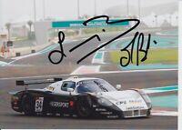 Francisco Longo and Matteo Bobbi Hand Signed 7x5 Photo - FIA GT Championship 4.