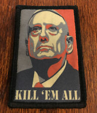 General Mad Dog Mattis Morale Patch Tactical Military Army Badge Hook Flag