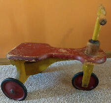 Antique Toy Wooden Trike - Rare Find