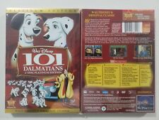 """101 Dalmatians (DVD, 2008, 2-Disc, Platinum Edition) """"Family Time"""" Free Shipping"""