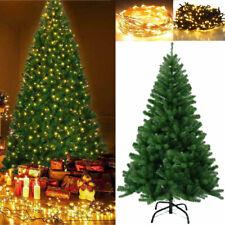 5/6/7FT LED Weihnachtsbaum Tannenbaum Christbaum künstlicher Dekobaum Kunstbaum