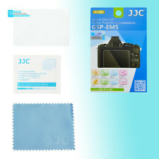 Olympus E-M5 9H Hard Tempered Glass LCD Screen Protector Anti Crack JJC GSP-EM5