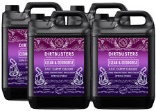 Dirtbusters Clean & deodorise carpet cleaning solution shampoo pet odor remover