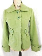 Jack By BB Dakota Size XS Coat Green Pea Coat Winter Jacket Style J72178E01