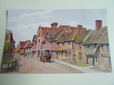 A R QUINTON Postcard 2009 Church Street, Steyning, Sussex   Unposted §A2509