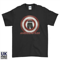 America's Ass Captain America shield Superheroes Mens Womens Kids T-Shirt