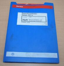 VW Passat B5 Motronic Einspritz und Zündanlage 5 Zyl Werkstatthandbuch Leitfaden