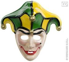 Fou médiévale Joker Masque Clown Halloween Déguisements