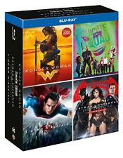 DC 4 Film Blu-ray  Set Wonder Woman Suicide Squad Batman Superman Justice League