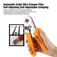 Lodestar Automatic Cable Crimper Plier Crimping Ratcheting Ratchet Terminal Tool