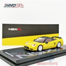 INNO 1:64 Honda NSX-R NA2 Imola Orange Pearl W// Extra Wheels Diecast Model Car