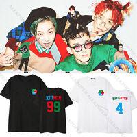 Kpop EXO CBX T-shirt Hey Mama Tshirt Unisex Chen Baekhyun XIUMIN Tee Tops