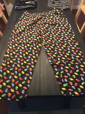 Chefwear Chef Wear Chef Pants Christmas Lights XL Extra Large Gently Used