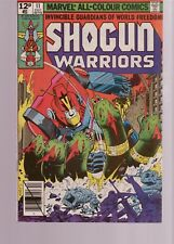 SHOGUN WARRIORS  11   UK PENCE VARIANT  / MARVEL COMICS