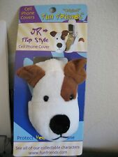 """JR"" Jack Russell Terrier Dog Fun Friends Plush Flip-style Cell Phone Cover NEW"