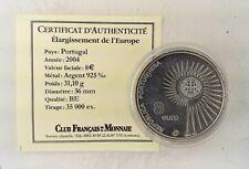 Élargissement de l'Europe - PORTUGAL - 8 euros 2004 en Argent BE