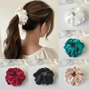 Women Ponytail Accessories Fashion Solid Birds Nest Hair Tie Hairpin Headwear