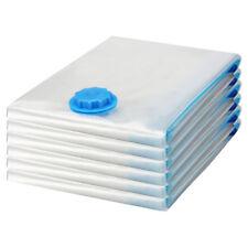6 PACK MEDIUM Space Saver Bags Storage Bag Vacuum Seal Organizer NEW