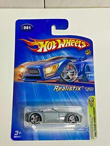 2005 Hot Wheels First Editions Realistix 1/20 Ford Shelby Cobra Custom #001 NIP