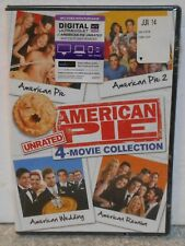 American Pie: Movie Collection - Unrated (DVD, 2014 4-Disc Unrated) BRAND NEW