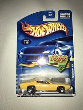 HOT WHEELS 2001 '77 Plymouth GTX Yellow