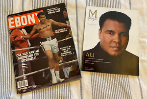 Original Sept. 1978 Ebony magazine  autographed  by legend Muhammad Ali