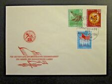 Germany DDR SC# 401 - 403 FDC / Unaddressed / Cacheted - Z4591