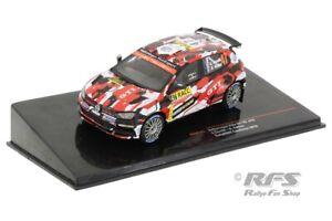 VW Polo GTI R5 Eric Camilli Rallye Rally Catalunya 2018 1:43 IXO RAM 741 NEU
