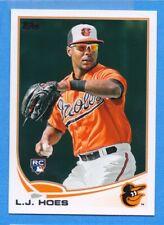 2013 Topps #148 L.J. Hoes Orioles