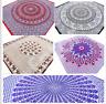 Indische Tagesdecke Handarbeit Bettüberwurf Decke Indien Baumwolle Wandbehang