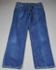 Vintage Levi's 506 Straight Leg W33 L 30* Orange Tab - Made IN U.S.A. Blue Jeans
