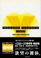 "Akira Gomi photo book ""Yellows Restart 1999"" Japan 1st edition w/Obi"
