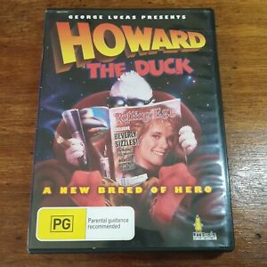 Howard the Duck DVD R4 LIKE NEW FREE POST