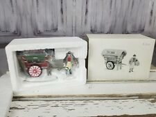 dept 56 village xmas holiday town tinker cart store 5646-4