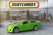 MATCHBOX '08 HOLDEN VE UTE SSV GREEN #2/100 DIECAST SCALE 1/67 NEW