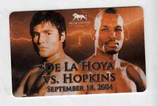 "Collectibles Room Key ""De La Hoya vs Hopkins"" MGM 9-18-2004-Las Vegas, Nevada"
