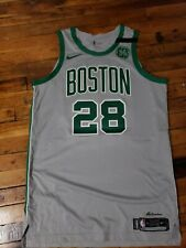 Abdel Nader Boston Celtics Authentic Gray Game Worn Jersey NBA Nike Size 52