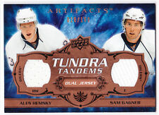 2008/09 Artifacts ALES HEMSKY & SAM GAGNER Tundra Tandems Jersey 18/100!